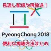 平昌オリンピック視聴方法