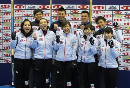 カーリング男女混合ダブルス日本 出場選手