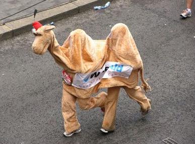 ロンドンマラソン コスプレ仮装