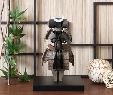 5月人形兜 木製