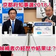 京都府知事選2018
