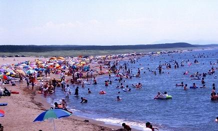 江ノ島海開き 片瀬西浜海水浴場