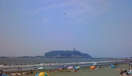 江ノ島海開き 腰越海水浴場