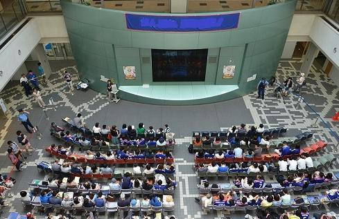ワールドカップ パブリックビューイング文京シビックセンター