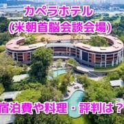 カペラホテル(米朝首脳会談会場)