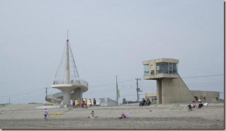 ペルセウス座流星群観測スポット九十九里浜ビーチタワー