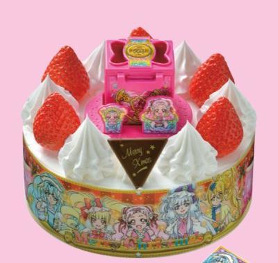 コンビニクリスマスケーキ ファミリーマートプリキュア