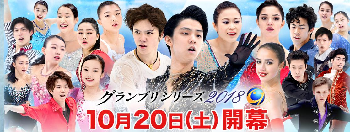 スケートアメリカ 放送予定