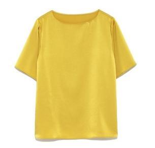 獣になれない私たち新垣結衣ガッキー衣装 黄色のシャツ