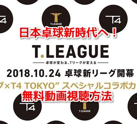 Tリーグ(卓球リーグ)