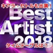 ベストアーティスト2018