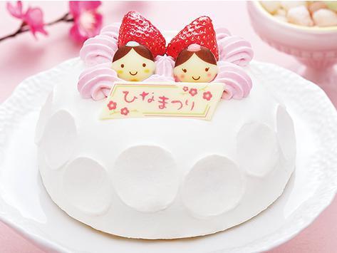 コンビニひな祭りケーキ8