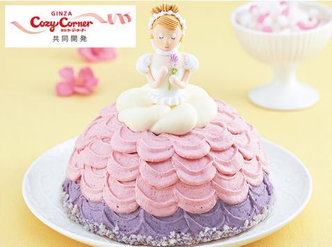 コンビニひな祭りケーキ9