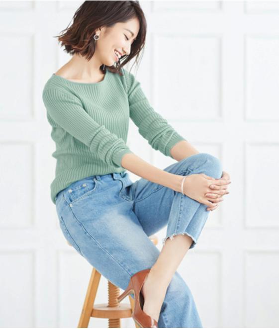 レディースファッション春コーデ4