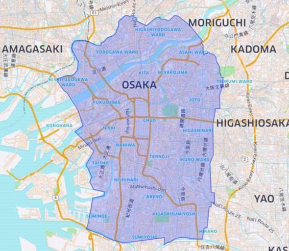 Uber Eats 大阪3