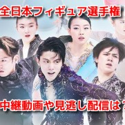 全日本フィギュアスケート選手権2019 生中継ライブ動画 無料見逃し配信