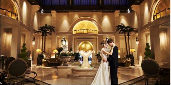 ホテル阪急インターナショナル結婚式場3