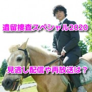 遺留捜査スペシャル2020 無料動画 見逃し配信 8月9日 再放送