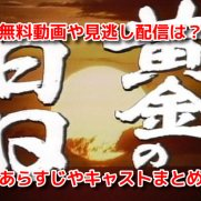 黄金の日日 NHK 全話 無料動画