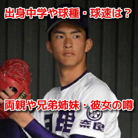 達孝太(天理高校) プロフィール