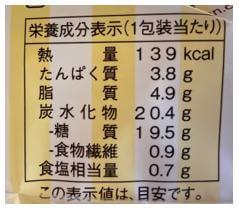 ファミチキ40% カロリー 表示